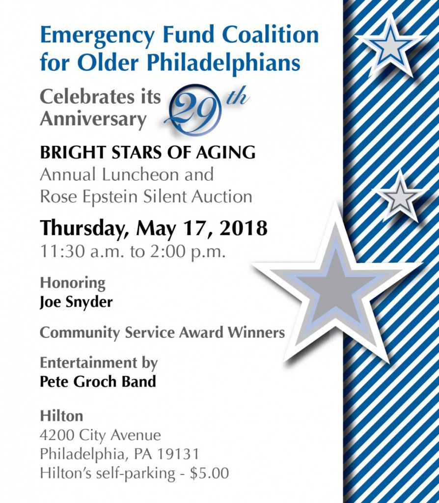 Emergency Fund Coalition Luncheon 2018: Cover