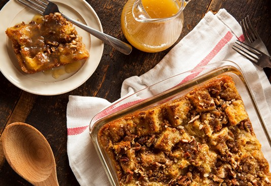 Bread pudding makes a delicious treat for the holidays and year 'round.