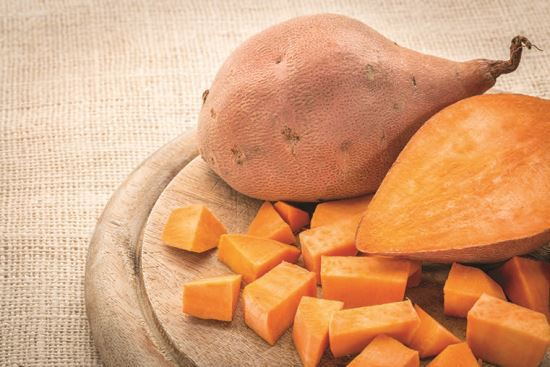 Sweet potatoes make a tasty and nutritious treat