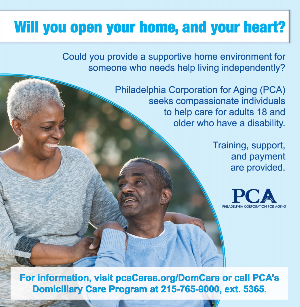 Dom Care Provider Advertisement