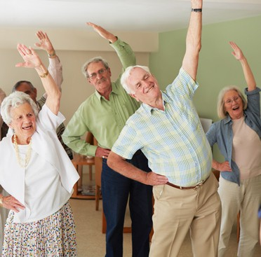 Senior center exercise programs offers great benefits. (iStock)