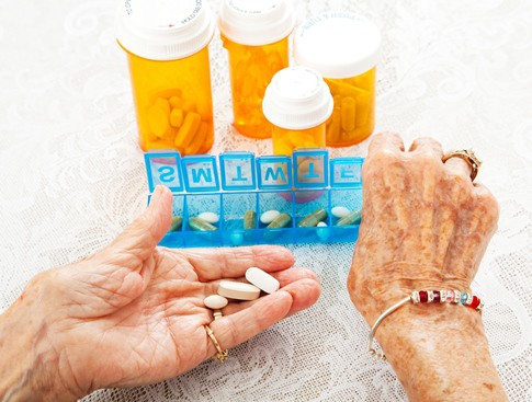 Managing medications effectively is important for seniors who often take many medications. (iStock)