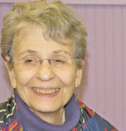 Betty Ann Fellner remains active by volunteering, despite a diagnosis of frontotemporal dementia. (Courtesy of Betty Ann Fellner)
