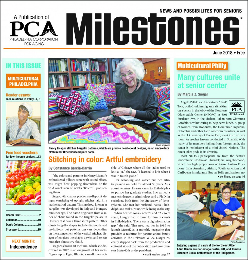 June 2018 Milestones Cover - Multicultural Philly