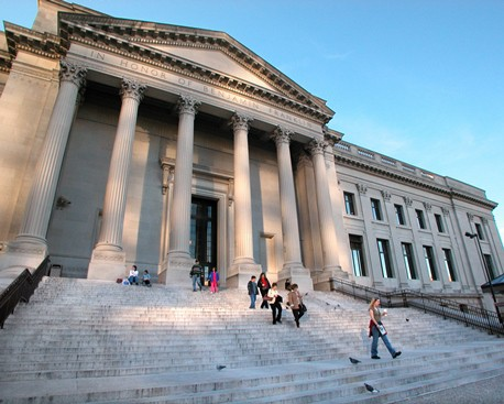 The Franklin Institute science museum is one of Philadelphia's major attractions.